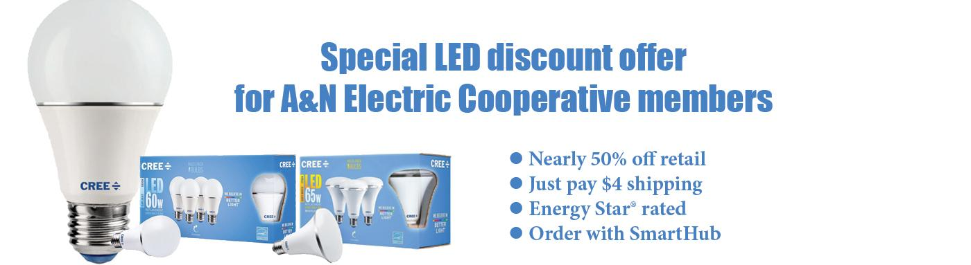 Cree/1000bulbs LED offer